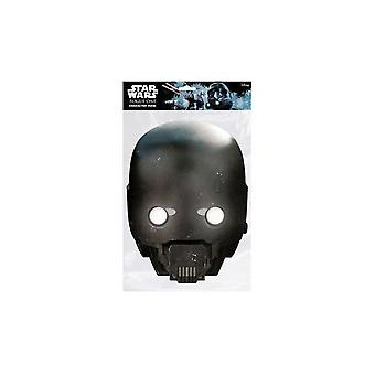 Star Wars Rogue One K-2SO Mask