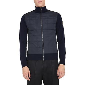 Belstaff 71160136k67a003180104 Mannen's Blue Wool Vest