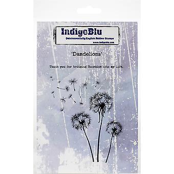 IndigoBlu Dandelions A6 Rubber Stamp