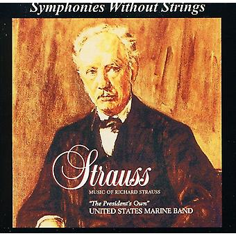 US Marine Band - musik av Richard Strauss [CD] USA import