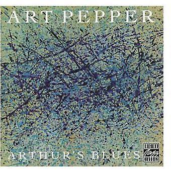 Art Pepper - Arthur's Blues [CD] USA import