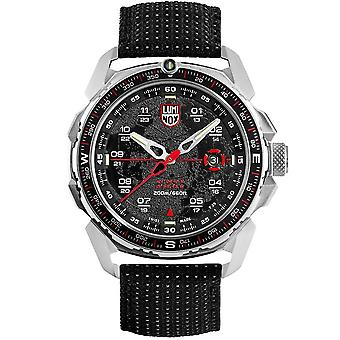 Luminox Ice Sar Quarz schwarz Zifferblatt Textilarmband Herrenuhr XL.1201