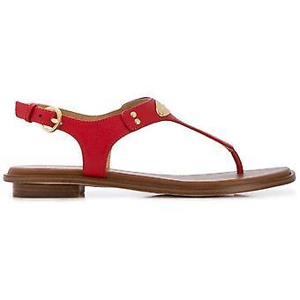 Michael kors mk placa tanga sandale femei maro