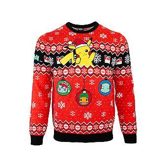 Officiële Pokemon kerst jumper/lelijke trui