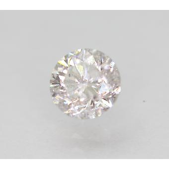 Zertifiziert 0.69 Carat E SI2 Round Brilliant Enhanced Natural Loose Diamond 5.36mm