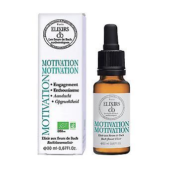 Motivation elixir compound 20 ml of floral elixir