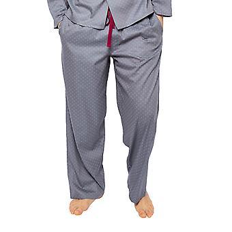 Cyberjammies Liam 6518 Männer's grau Fliesen Druck Pyjama Hose