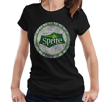 Nauti sprite 1960 valkoinen BottleCap naisten T-paita