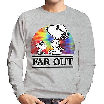 Maapähkinät kaukana Snoopy & Woodstock miesten ' s College pusero