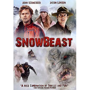 Snow Beast [DVD] USA import