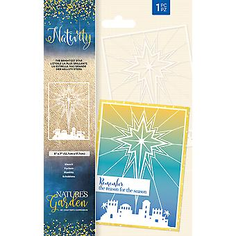 Crafter's Companion Nativity The Brightest Star Stencil