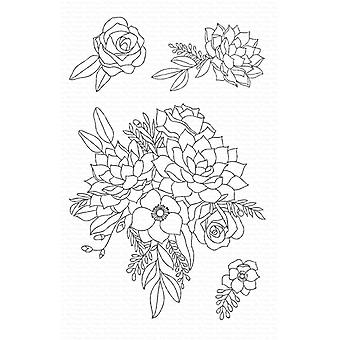 """My Favorite Things Clear Stamps 4""""X6"""" - Fantasy Florals"""