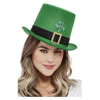 Voksne Paddy's Dag Topp Hatt