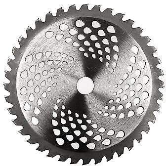"""9"""" Diameter 40-Teeth Carbide Tip Blade - Weed Eater, Brush Cutter, Lawn Trimmer Accessory"""