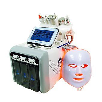 Ultrazvukový H2o2 Hydro Voda Diamond Peeling Kyslík vakuum- Rf Bio Hydrafacial krása stroj s led maskou a kůže pračka