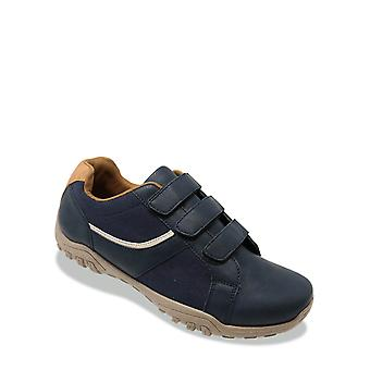 Pegasus Mens Wide Fit Trainer Touch Fasten