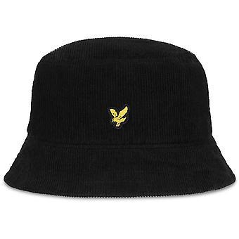 Lyle & Scott Cord Bucket Hat Black 53