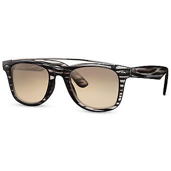 النظارات الشمسية Unisex الطريق كات. 2 أسود / أبيض / بني