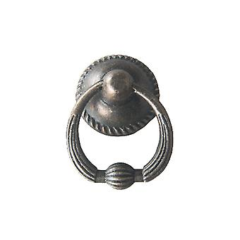 5PCS Drop Ring Pull Knob Antique Style Cabinet Pull Handle 063 Style