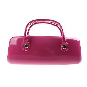 Brillenetui Damen   16 x 6 cm pink