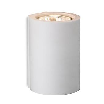 Firstlight Wells - 1 luz de yeso único luz interior de pared blanca, GU10