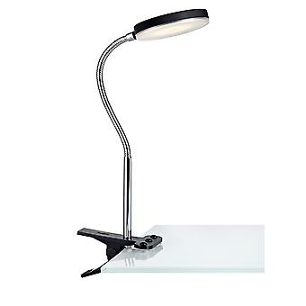 Led Indoor Clamp Table Lampe Noir