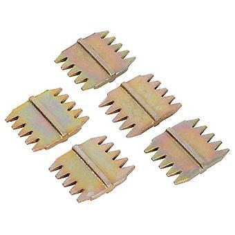 Roughneck Scutch Combs 25mm (1in) Pack of 5 ROU31996