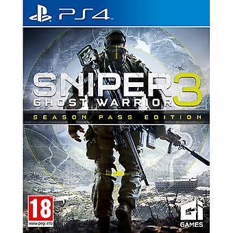 قناص الأشباح المحارب 3 تمرير موسم الطبعة لعبة PS4