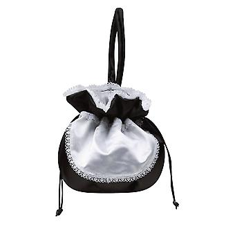 French Maid Waitress Party Accessory Bag Fancy Dress Costume Purse