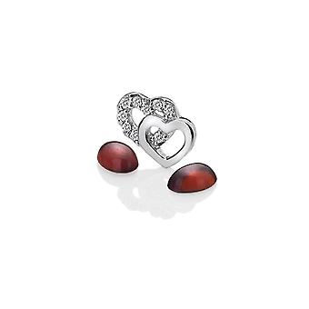Anais Hot Diamonds Anais Sterling Silver Double Heart Charm AC013