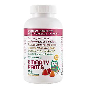 SmartyPants Women's Complete Vitamins, 180 Gummies