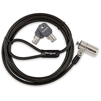 Targus Universal T-Lock Ordinateur portable et câble de sécurité de bureau - Serrure de clé