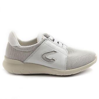 Zapato de mujer Grisport 6602 Blanco con plantilla extraíble
