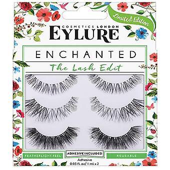 Eylure Limited Edition Enchanted Eyelashes - The Lash Edit (adhesive Included)