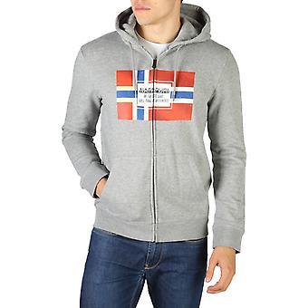 Napapijri - bera-men's vaste capuchon lange mouwen sweatshirt