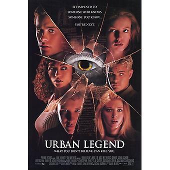 Poster do filme lenda urbana (11 x 17)
