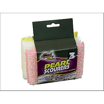Squeaky Puhdas Pearl Scourers x 3 849.3SQ2