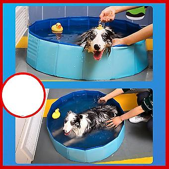 Foldable Collapsible Bathing, Swimming Pool For Dogs Cats Kids