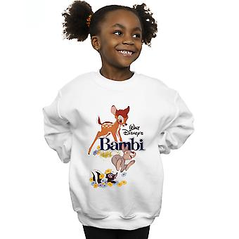 Disney Girls Bambi Juliste Collegepaita