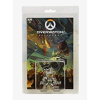 Overwatch Reinhardt Comic Book and Backpack Hanger