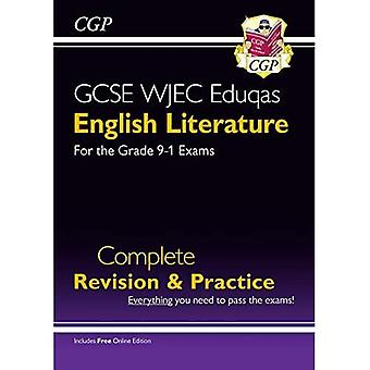 Ny grade 9-1 GCSE engelsk litteratur WJEC Eduqas Komplet Revision & Practice (med Online Edition)