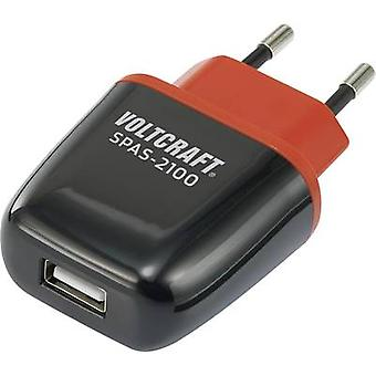 VOLTCRAFT SPAS-2100 VC-11413285 USB charger Mains socket Max. output current 2100 mA 1 x USB Auto-Detect