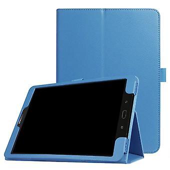 Folio nahkakotelo Samsung Galaxy Tab E9.6 T560 Sky sininen