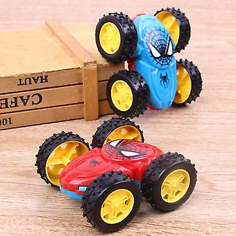 Cool Double-sided Dump Truck Inertial Car 360 Rotation Creative Birthday Toy