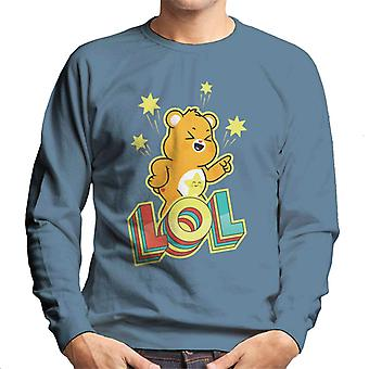 Care Bears Unlock The Magic Funshine Bear Lol Men's Sweatshirt