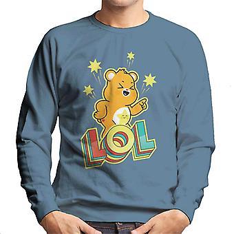 Care Bears Desbloquear The Magic Funshine Bear Lol Men's Sweatshirt