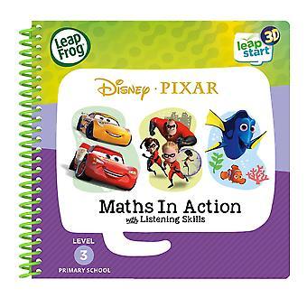 Recepção leapstart: matemática da Disney Pixar em livro de atividades de ação (3d aprimorado)