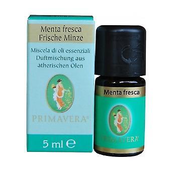 Fresh Mint Essential Oils Blend 5 ml of essential oil