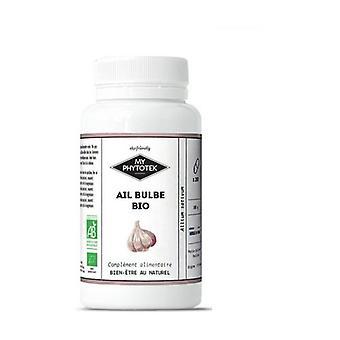 Organic bulb garlic 200 capsules of 280mg
