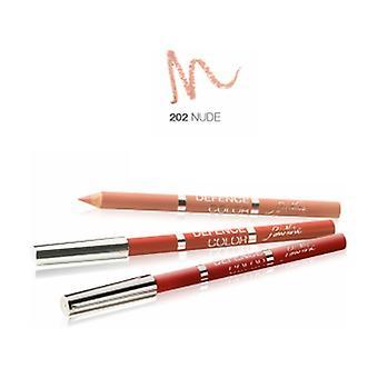 Defense Color Lip Design 202 Nude 1 unit